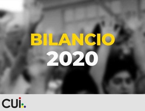 Bilancio CUI – 2020